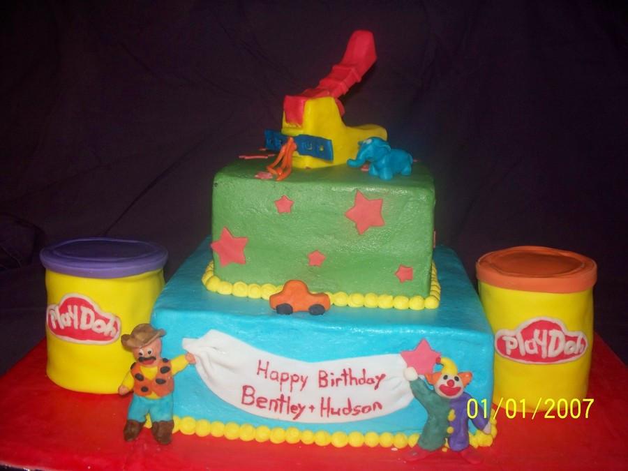 Play Doh Birthday Cake  Play Doh Birthday Cake CakeCentral