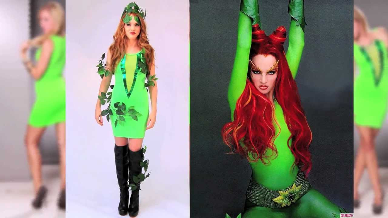 Best ideas about Poison Ivy Costume DIY . Save or Pin y Halloween Poison Ivy inspired Costume DIY Now.
