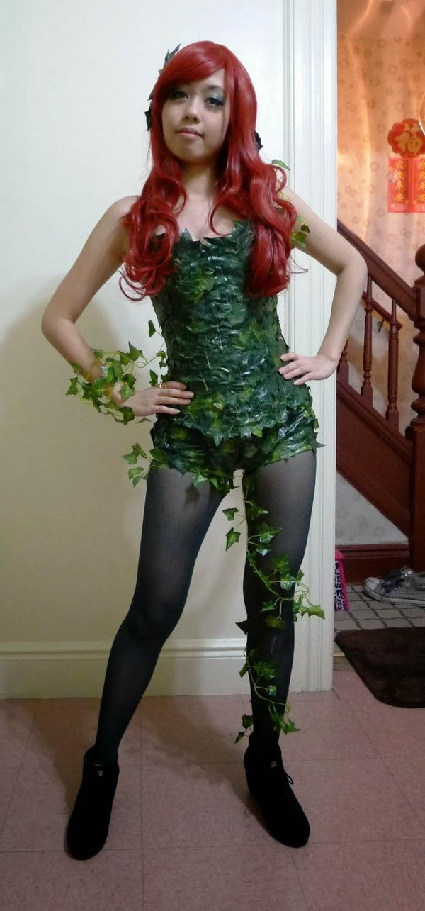 Best ideas about Poison Ivy Costume DIY . Save or Pin 50 Super Cool Character Costume Ideas Hative Now.