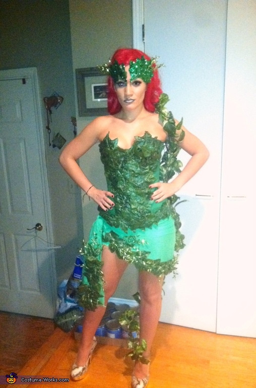 Best ideas about Poison Ivy Costume DIY . Save or Pin DIY Poison Ivy Costume Idea for a Women Now.