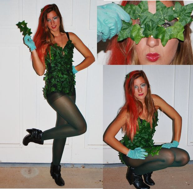 Best ideas about Poison Ivy Costume DIY . Save or Pin Poison Ivy Costume Now.