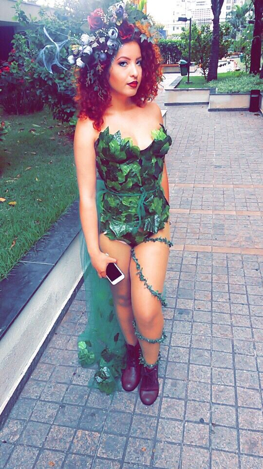 Best ideas about Poison Ivy Costume DIY . Save or Pin Diy Poison ivy costume hair and makeup … Now.