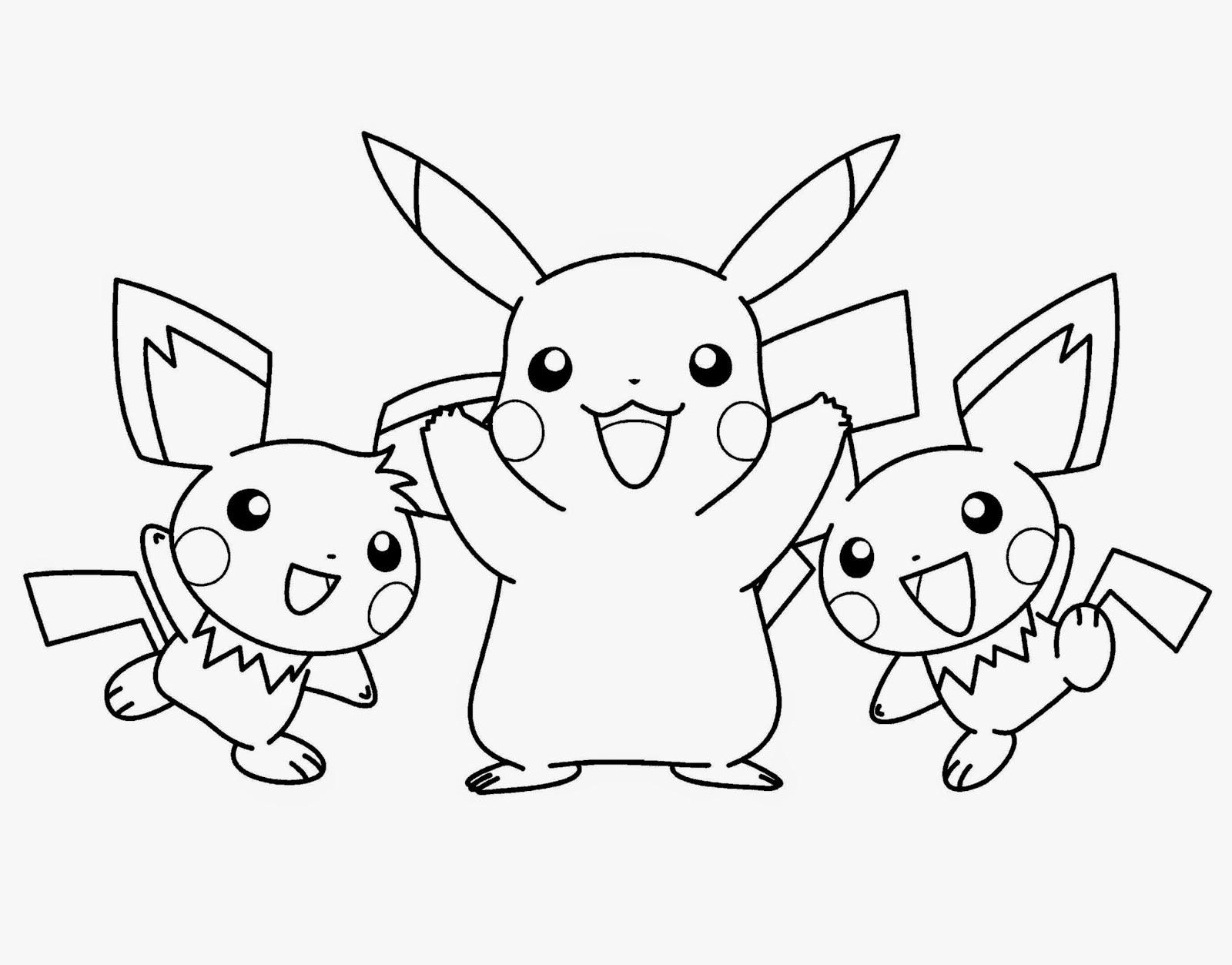 Pokemon Printable Coloring Pages  Pokemon Coloring Sheets