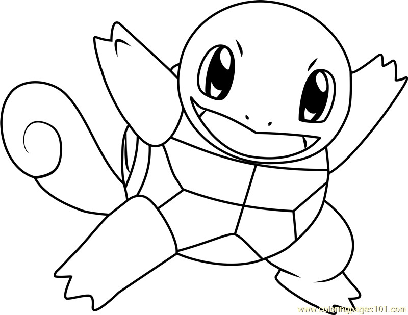 Inspirational Pokemon Squirtle Coloring Pages - cool wallpaper