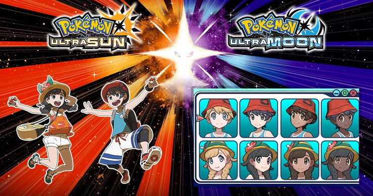 Pokemon Ultra Sun Female Hairstyles  Pokemon Ultra Sun and Ultra Moon Guide Beginner s Guide