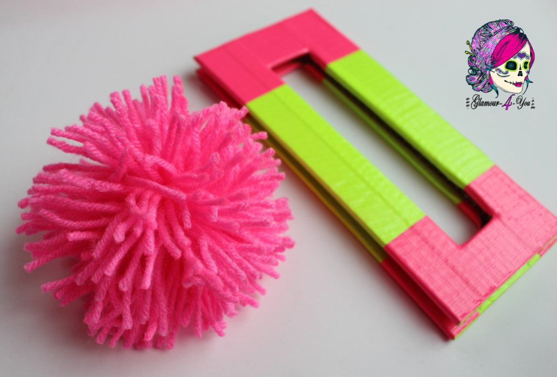 Pom Pom Maker DIY  DIY Pompom Maker for Kids Glamour4You