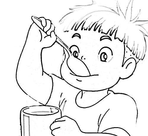Ponyo Coloring Pages  Ponyo Coloring Pages Coloring Home