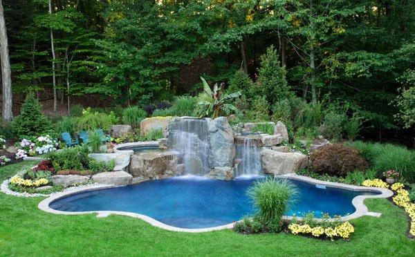 Best ideas about Pool Landscape Ideas . Save or Pin 15 Pool Landscape Design Ideas Now.