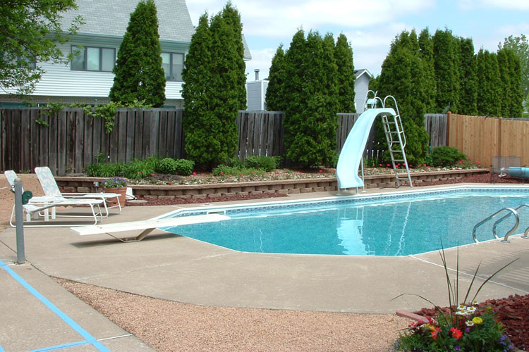 Best ideas about Pool Landscape Ideas . Save or Pin Pool Landscape Design Ideas Now.