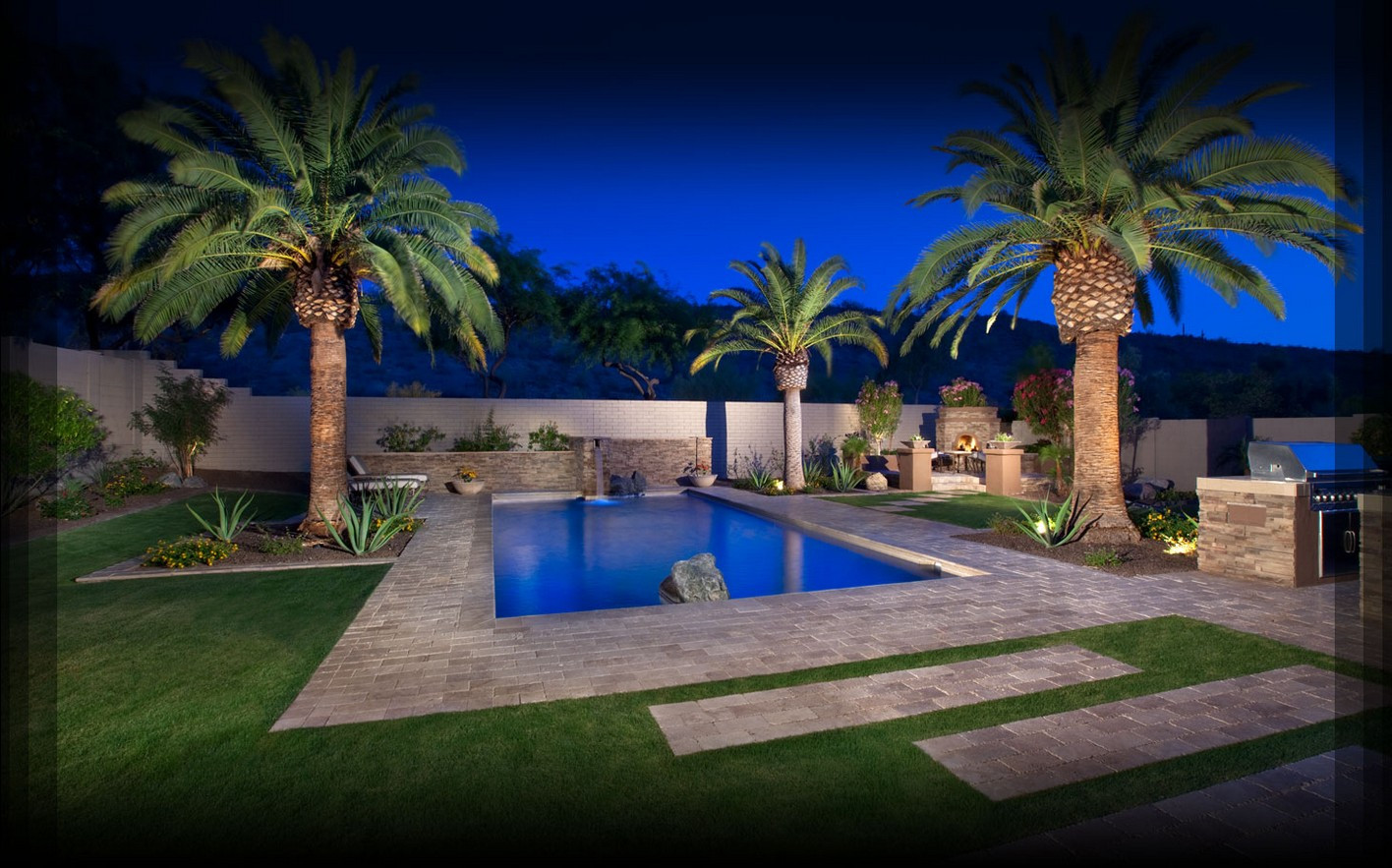 Best ideas about Pool Landscape Ideas . Save or Pin Backyard Pool Designs Ideas to Perfect Your Backyard Now.