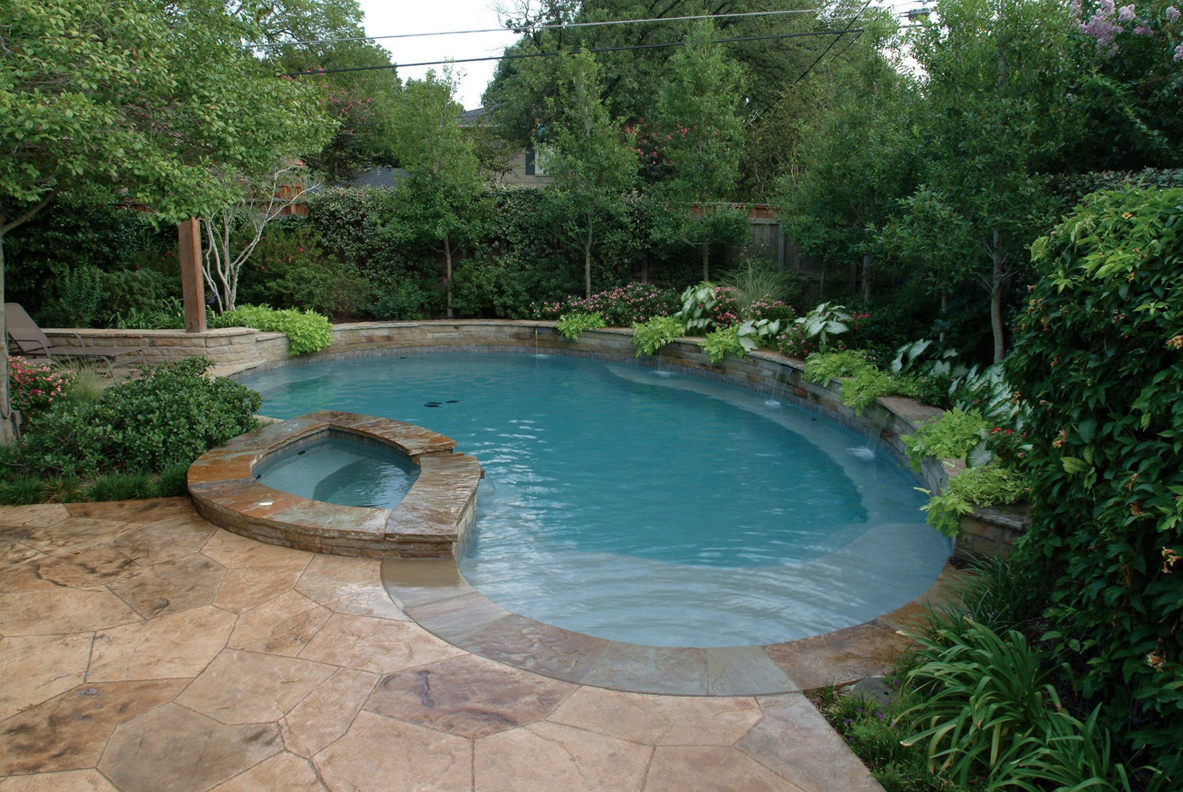 Best ideas about Pool Landscape Ideas . Save or Pin Best and Useful Swimming Pool Designs for Your House Now.