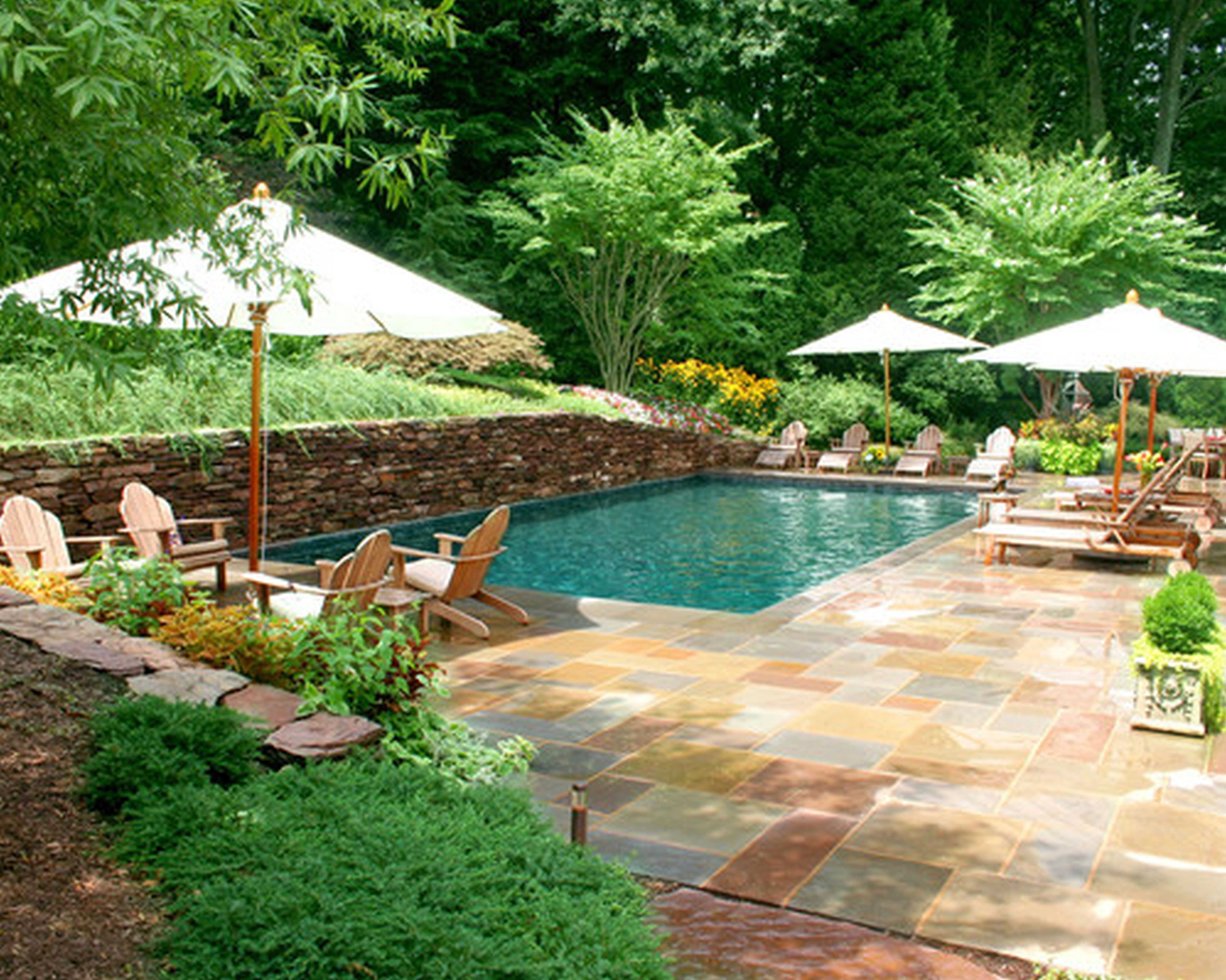 Best ideas about Pool Landscape Ideas . Save or Pin Designing Your Backyard Swimming Pool Part I of II Now.