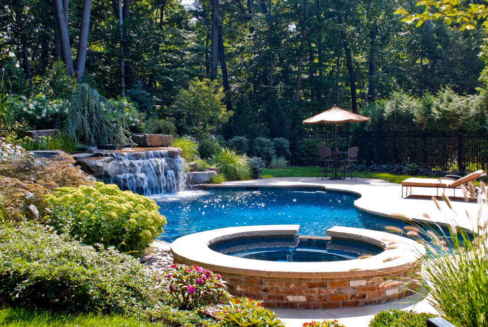 Best ideas about Pool Landscape Ideas . Save or Pin Beautiful Landscaping & Gardens Cipriano Landscape Design NJ Now.