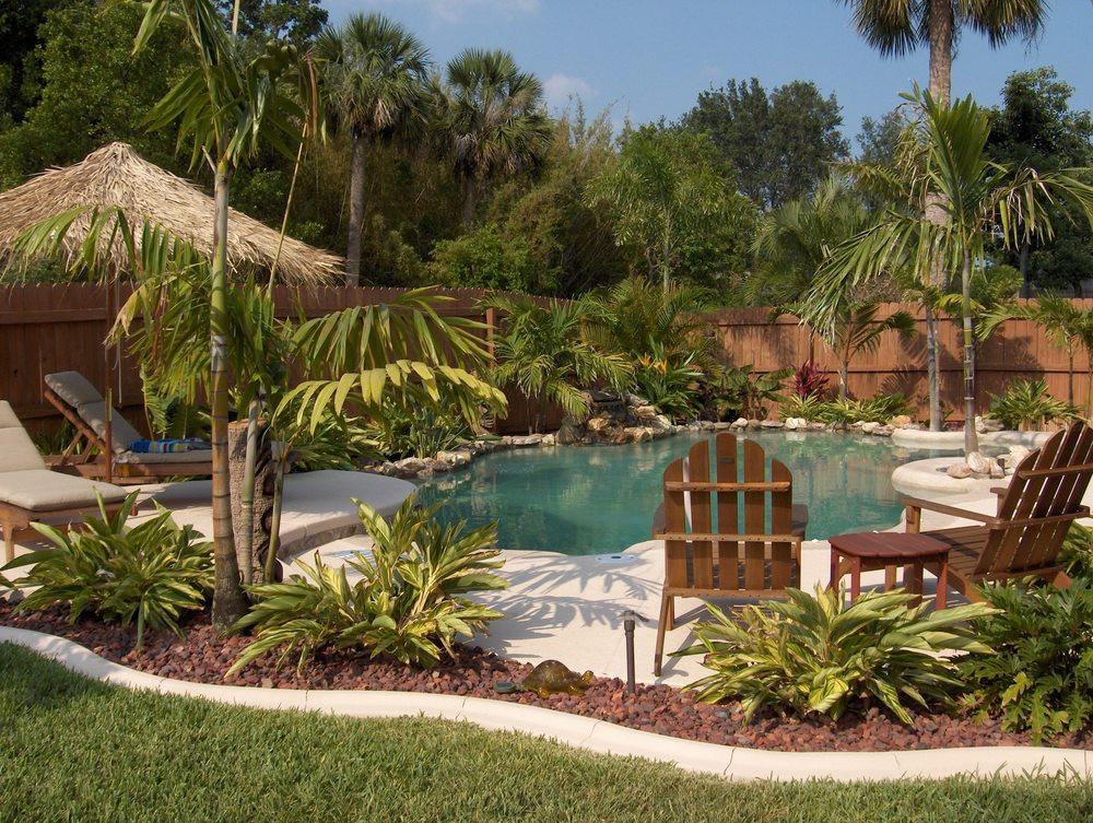 Best ideas about Pool Landscape Ideas . Save or Pin 43 Marvelous Backyard Swimming Pool Ideas Now.