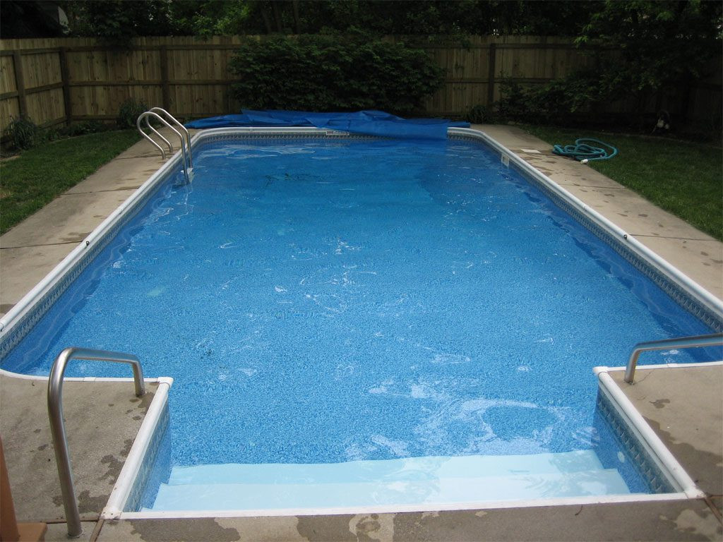 Best ideas about Pool Steps For Inground Pool . Save or Pin inground pool steps Inground Pool Design – fortHouseo Now.