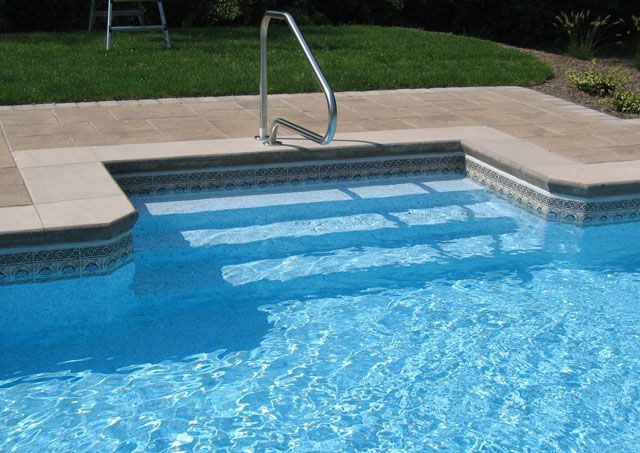 Best ideas about Pool Steps For Inground Pool . Save or Pin Steps – Swimming pools photos Now.
