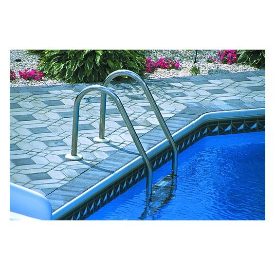 Best ideas about Pool Steps For Inground Pool . Save or Pin In Ground Pool 3 Step Ladder Now.
