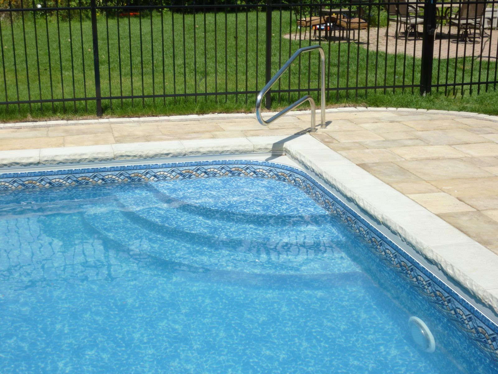 Best ideas about Pool Steps For Inground Pool . Save or Pin Custom Inground Pool Steps made of Concrete Steel or Polymer Now.