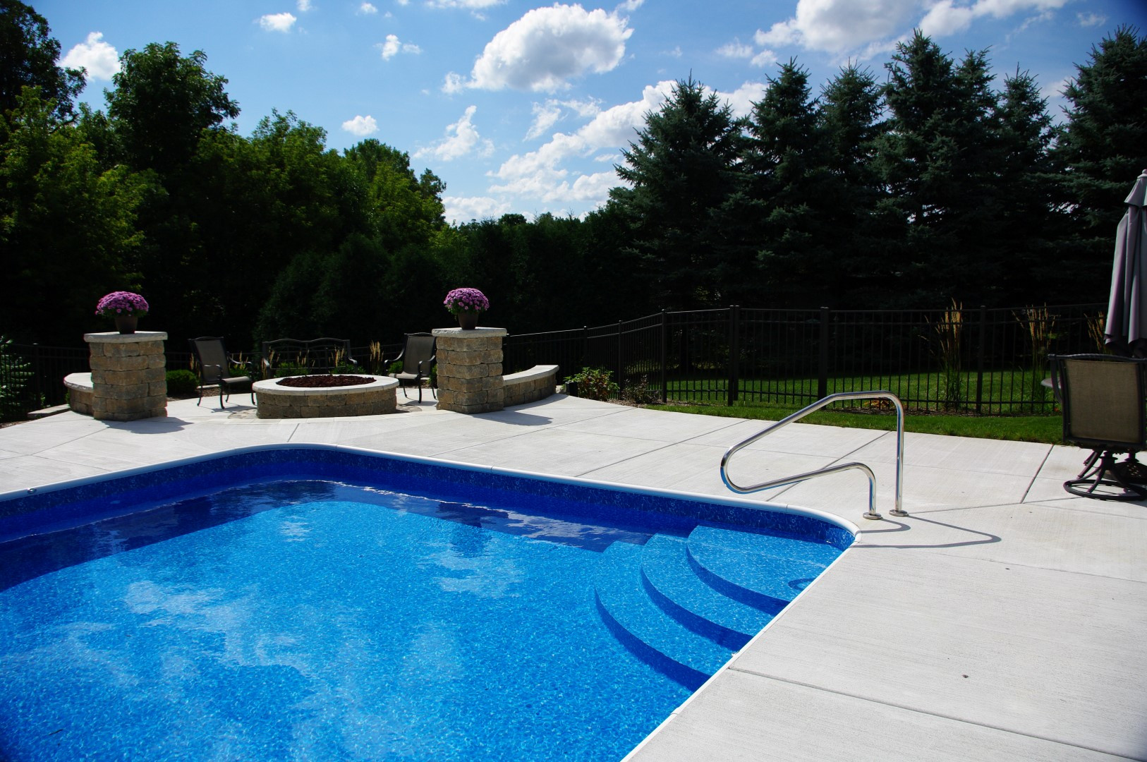 Best ideas about Pool Steps For Inground Pool . Save or Pin Penguin Pool s Custom Inground Pool Steps made of Concrete Now.
