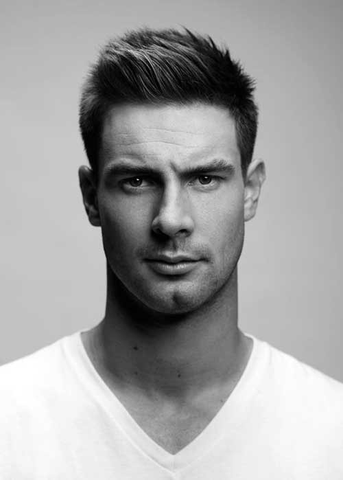 Best ideas about Popular Boys Hairstyle . Save or Pin 40 Popular Male Short Hairstyles Now.