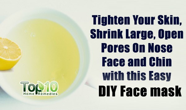 Pore Shrinking Mask DIY  Home Reme s for Open Pores