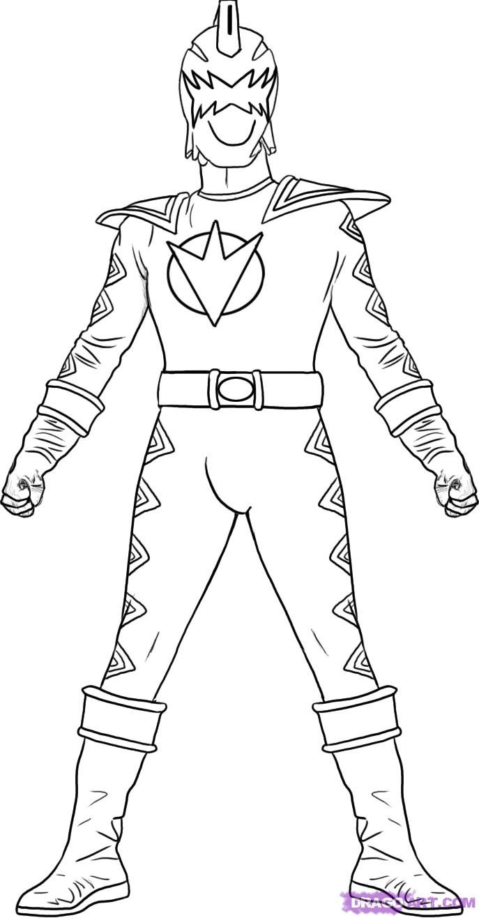 Power Ranger Coloring Pages  Free Printable Power Rangers Coloring Pages For Kids