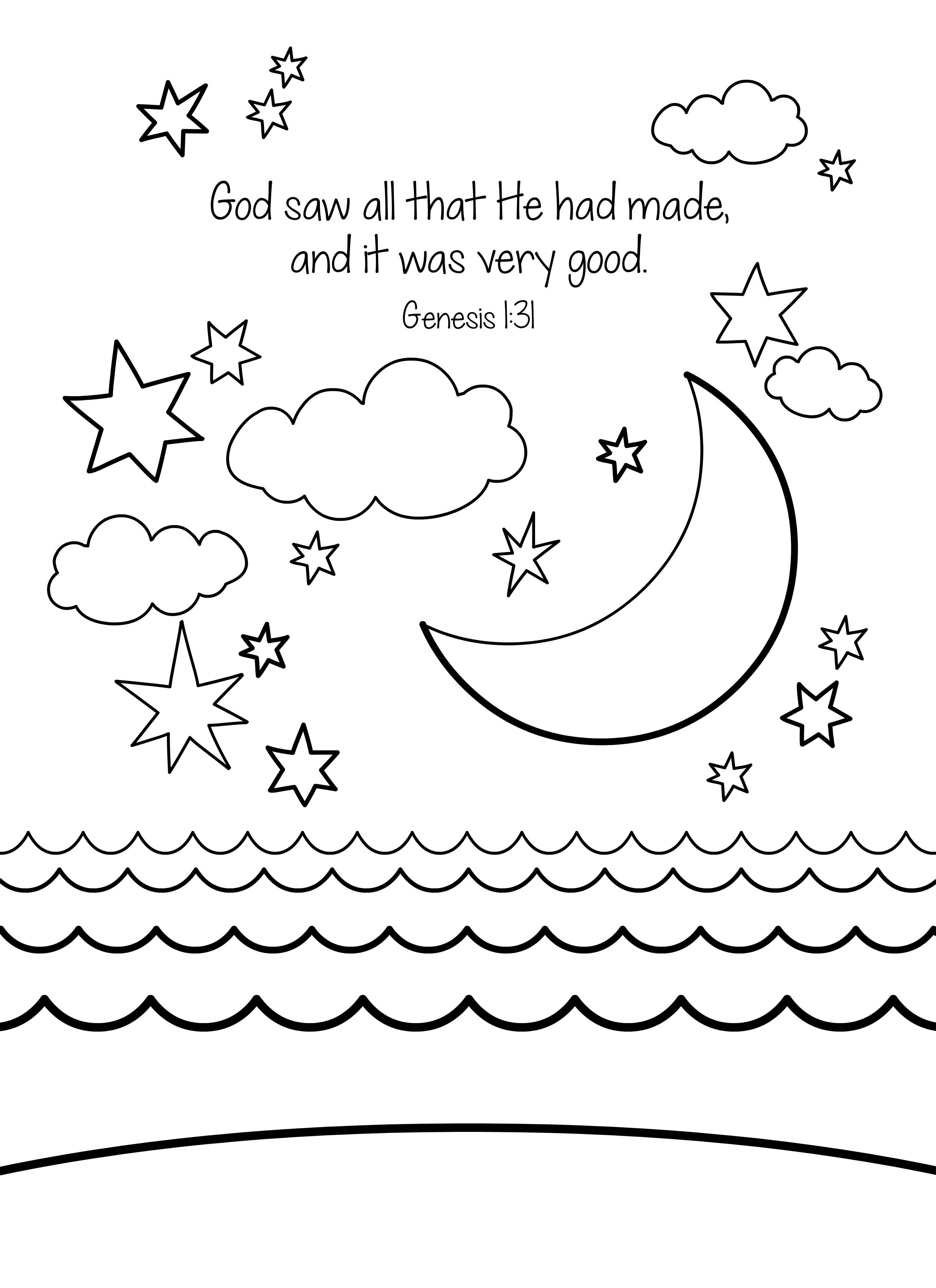 Preschool Bible Coloring Pages  Free Bible Coloring Page Creation