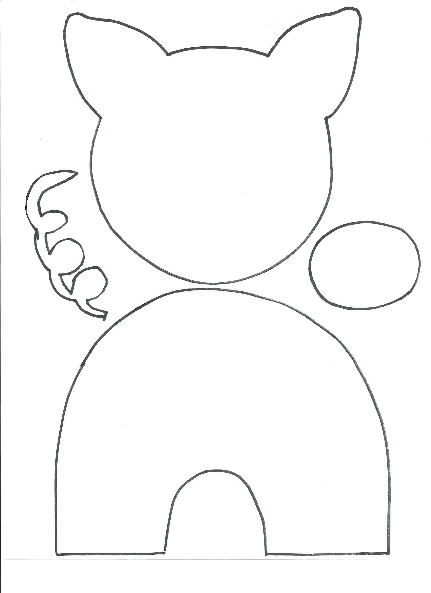 Preschool Coloring Sheets For The 3 Little Pigs Paper Plate Pig  Pin by Carmel Reilly on Kindy