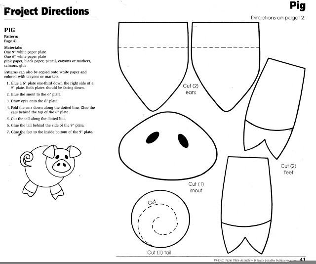 Preschool Coloring Sheets For The 3 Little Pigs Paper Plate Pig  16 Best of Three Little Pigs Preschool Worksheet