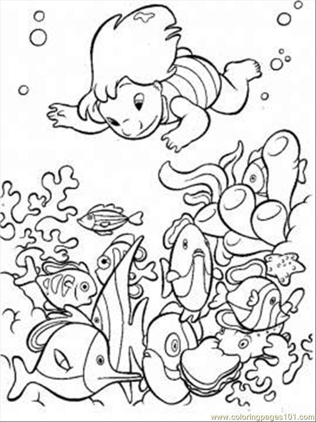 Preschool Coloring Sheets Ocean  Free Printable Ocean Coloring Pages For Kids