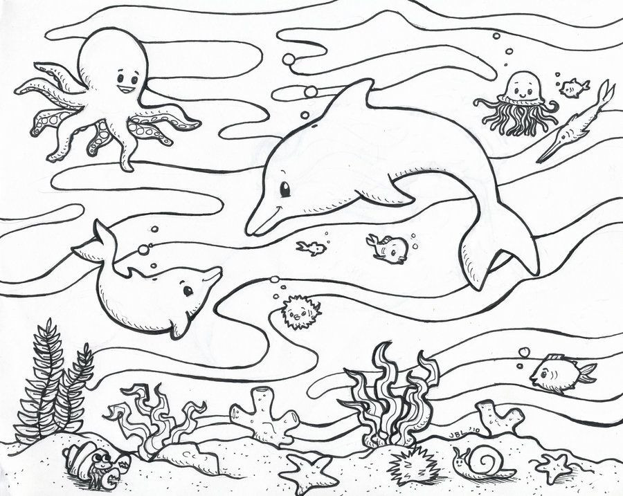 Preschool Coloring Sheets Ocean  Preschool Ocean Coloring Pages AZ Coloring Pages