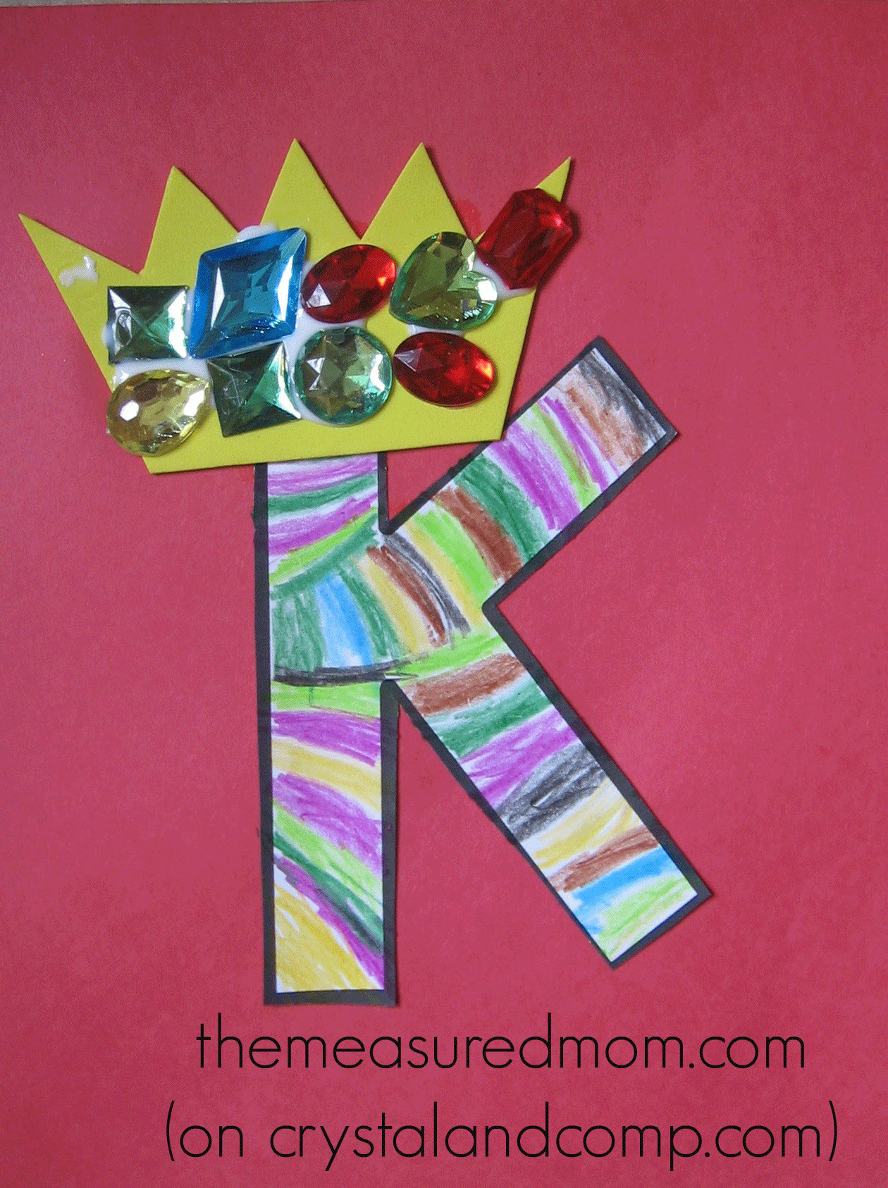 Preschoolers Craft Activities  Crafts for Letter K The Measured Mom