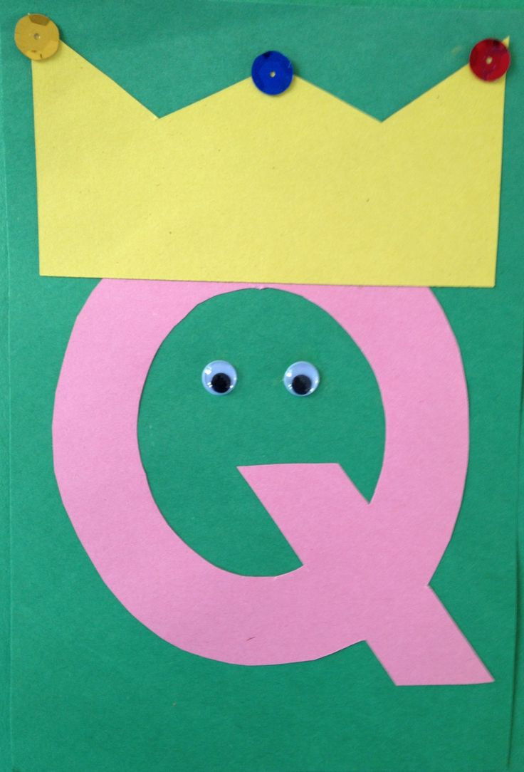 Preschoolers Craft Activities  Preschool Letter Q Craft