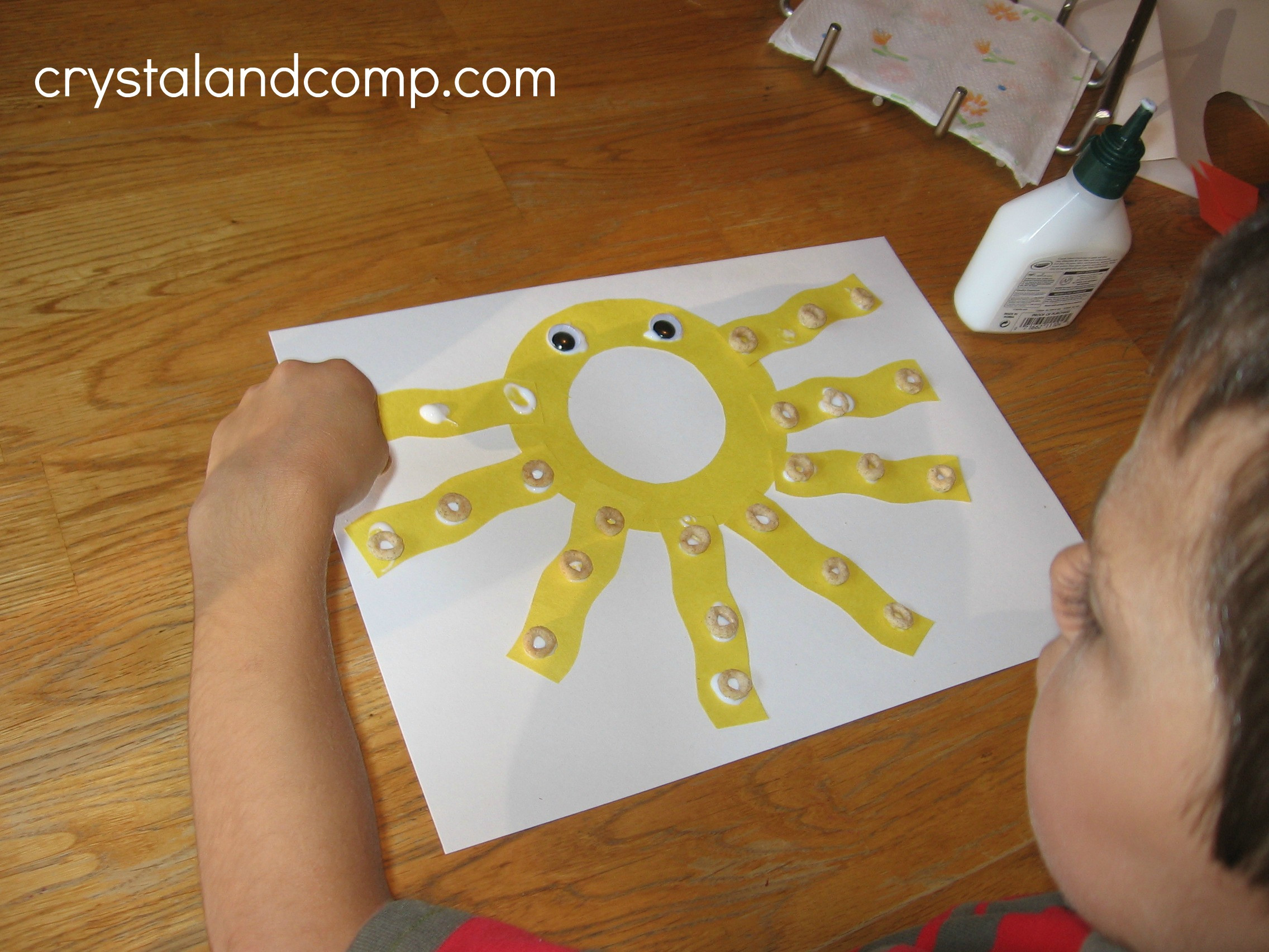 Preschoolers Craft Activities  Alphabet Activities for Preschoolers O is for Octopus