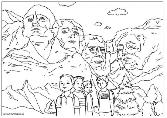 President Day Coloring Pages  18 Easy President's Day Activities and Crafts – Tip Junkie