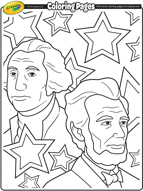 President Day Coloring Pages  Presidents Day