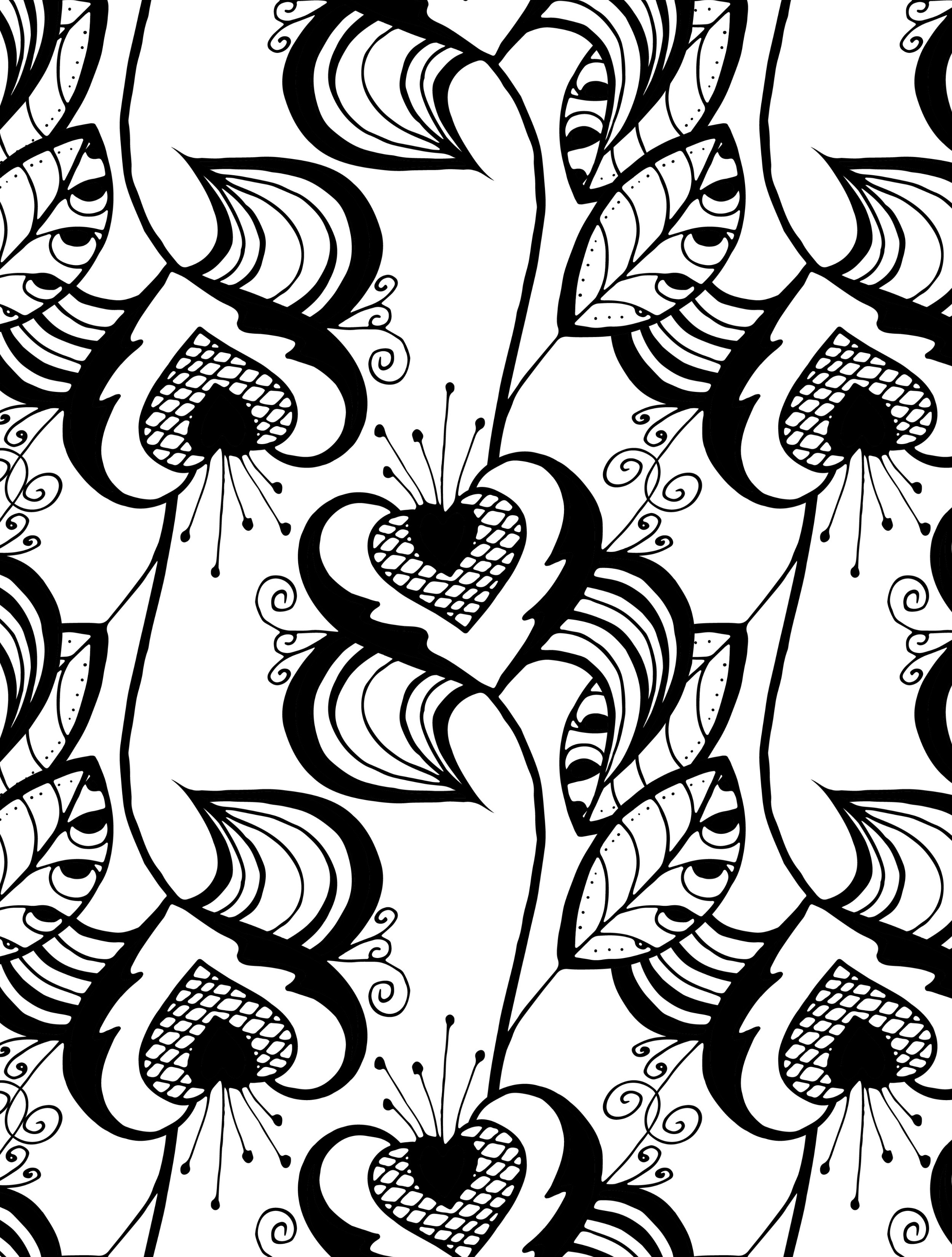 Best ideas about Pretty Coloring Pages For Adults . Save or Pin 20 Free Printable Valentines Adult Coloring Pages Nerdy Now.