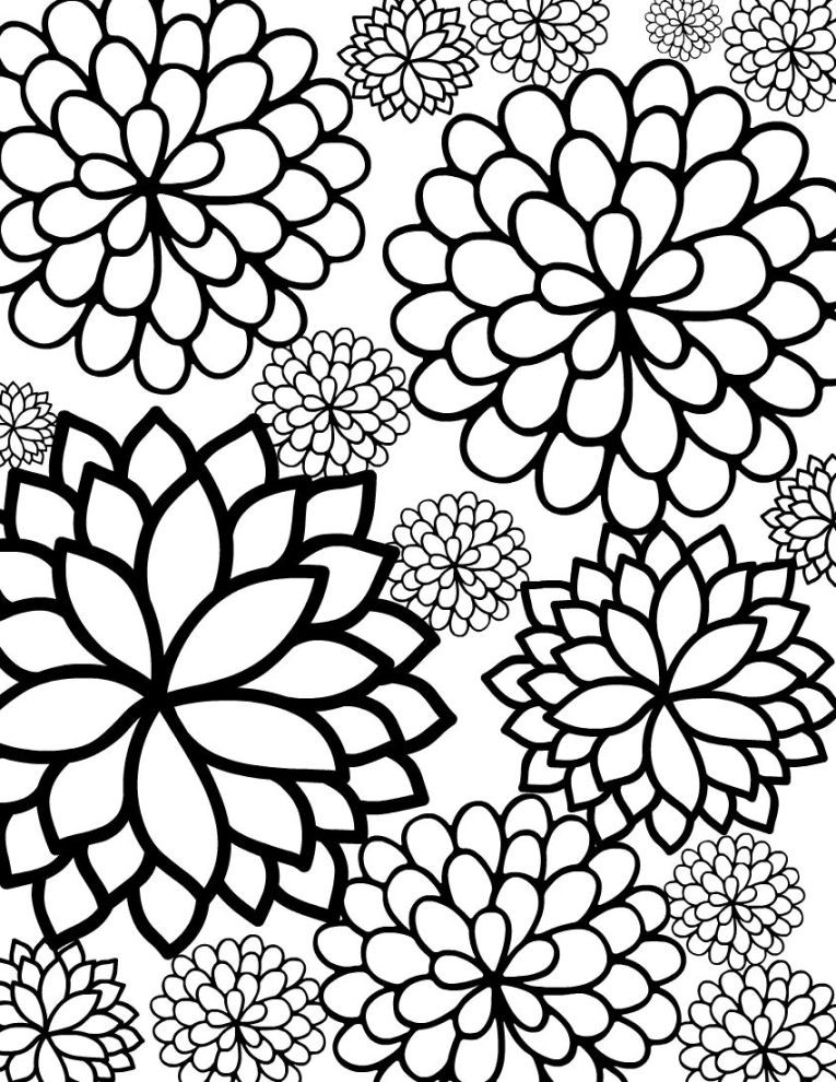 Best ideas about Pretty Coloring Pages For Adults . Save or Pin Big Kid Coloring Pages Now.