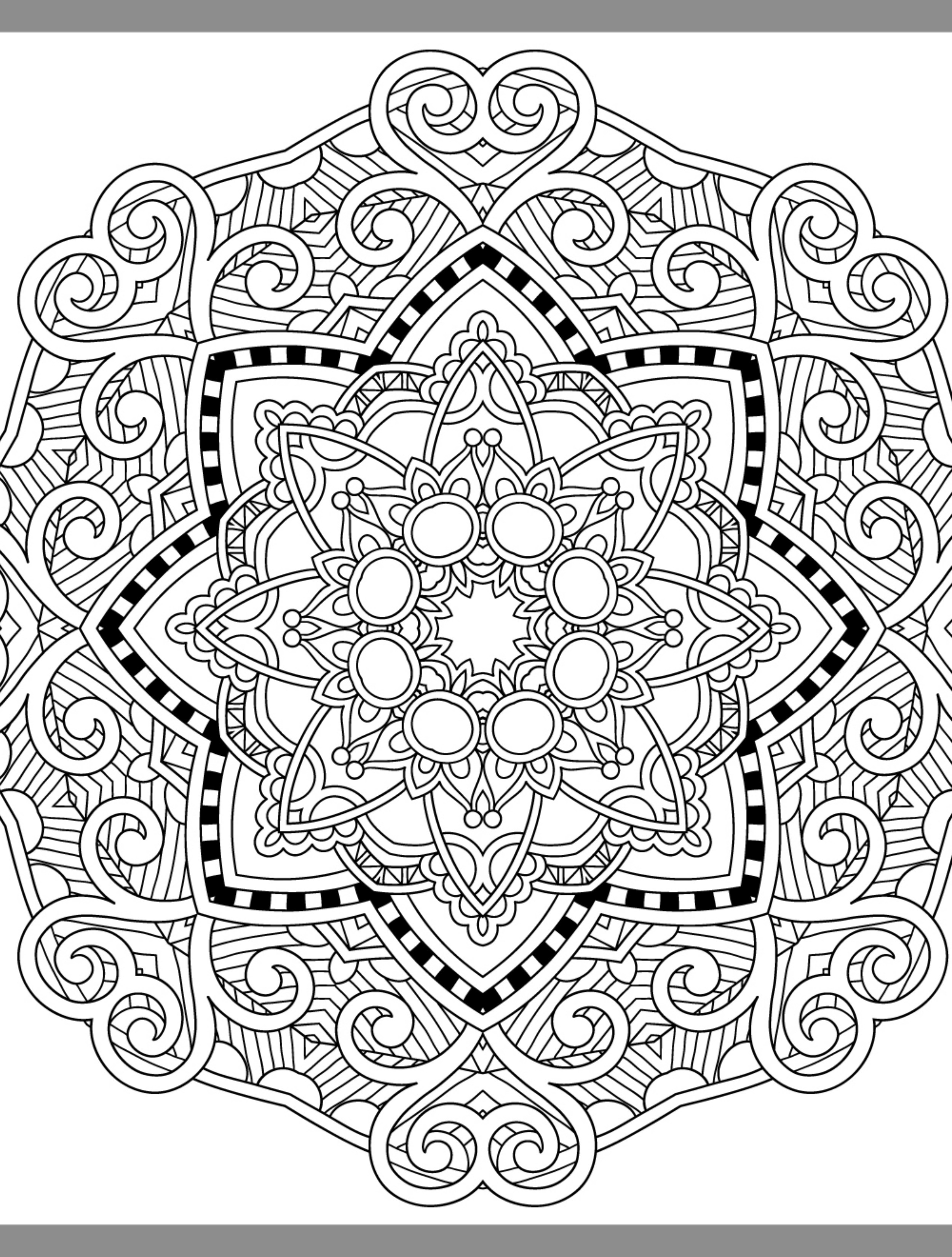 Best ideas about Pretty Coloring Pages For Adults . Save or Pin 24 More Free Printable Adult Coloring Pages Page 3 of 25 Now.