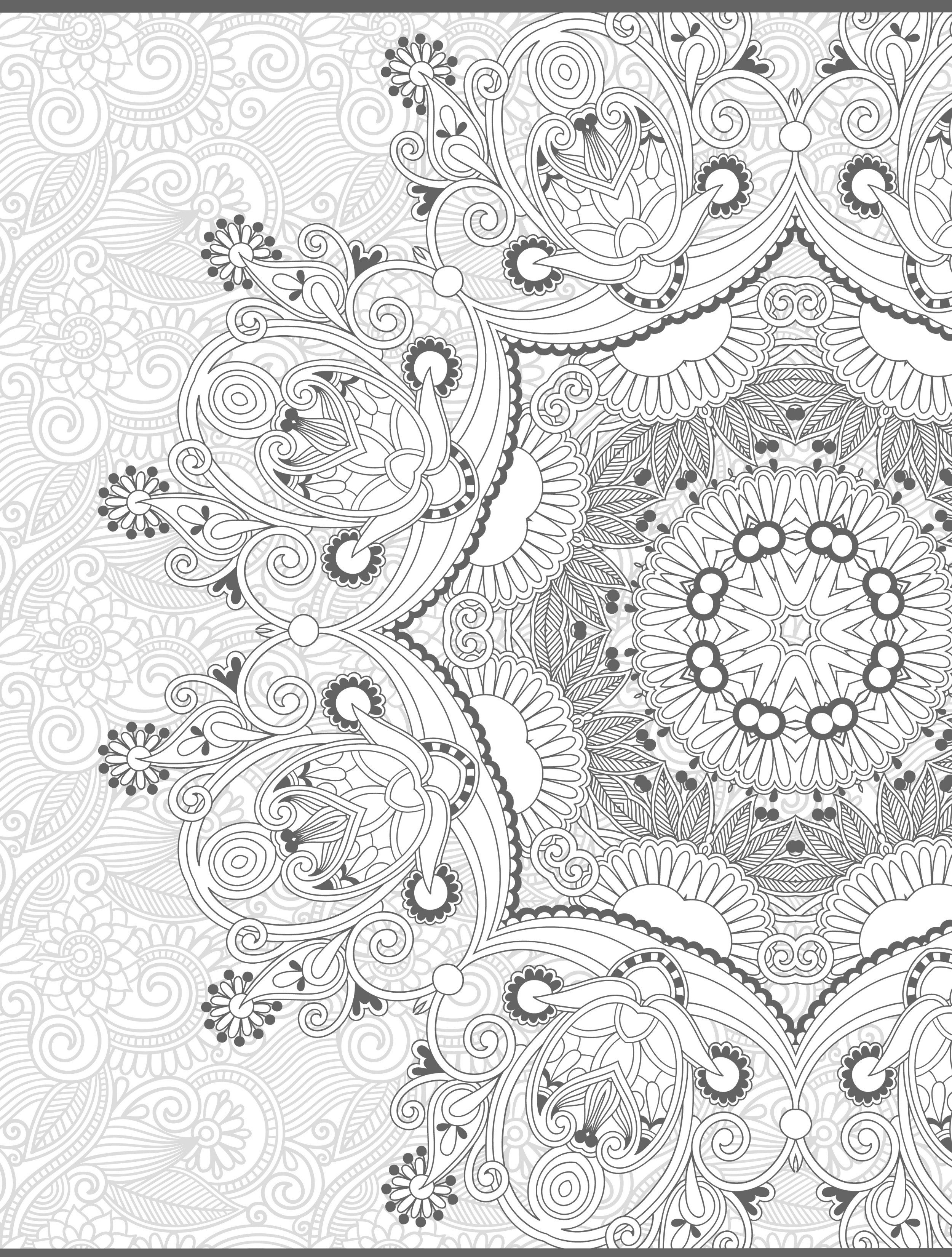 Best ideas about Pretty Coloring Pages For Adults . Save or Pin 24 More Free Printable Adult Coloring Pages Page 4 of 25 Now.