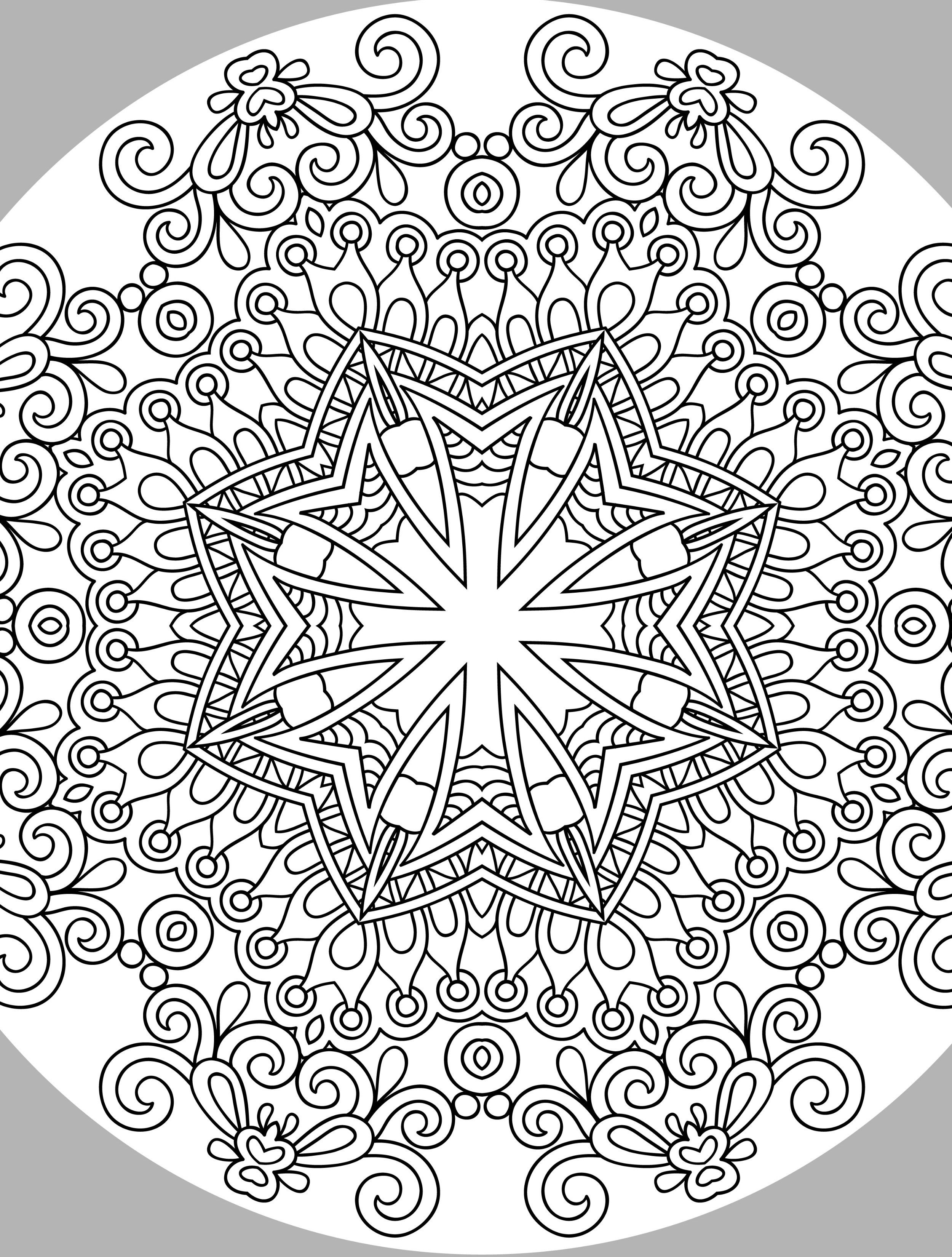 Best ideas about Pretty Coloring Pages For Adults . Save or Pin 10 Free Printable Holiday Adult Coloring Pages Now.