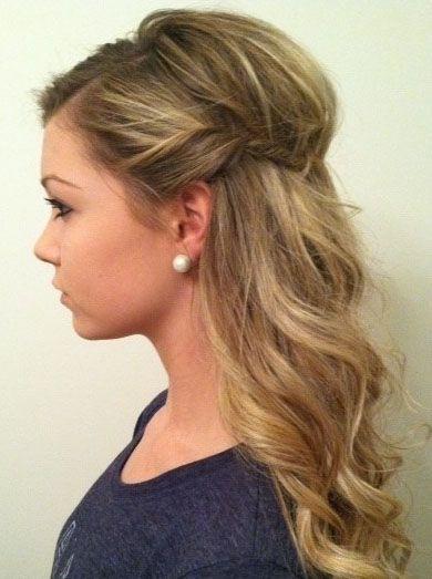Pretty Easy Hairstyles  16 Cool Hairstyles for Medium Hair Pretty Designs