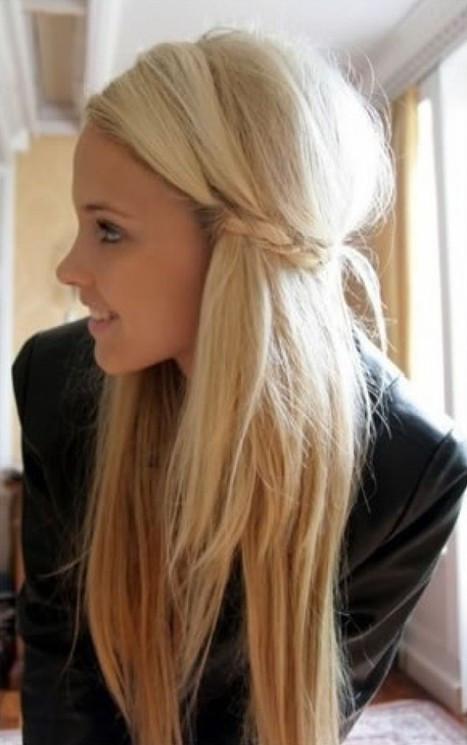 Pretty Easy Hairstyles  2014 Cute Easy Hairstyles for Long Hair Pretty Designs