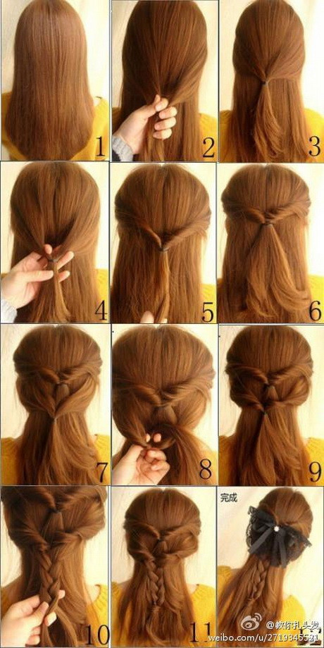 Pretty Easy Hairstyles  Cute simple hairstyles for long hair