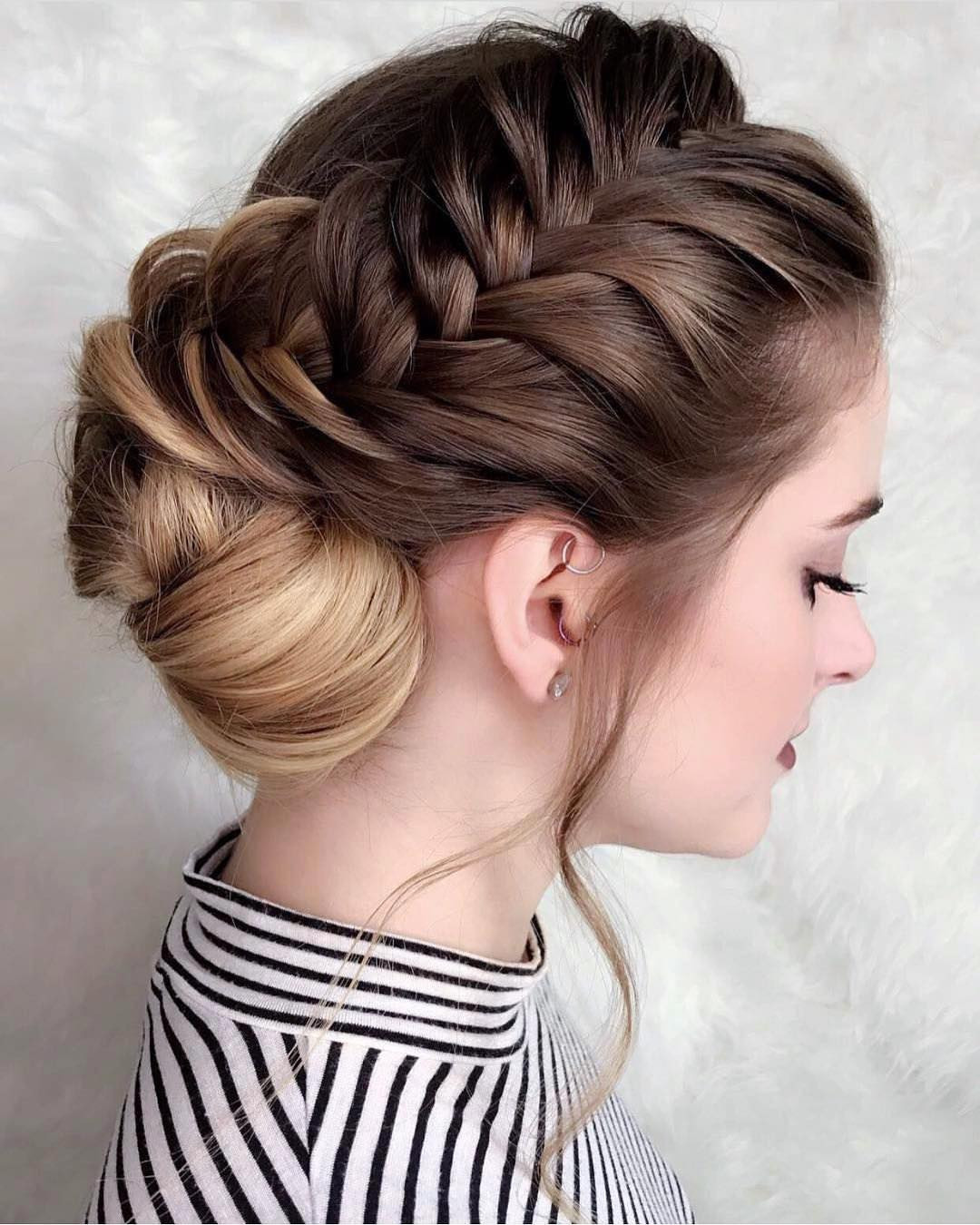 Pretty Prom Hairstyles  10 New Prom Updo Hair Styles 2019 Gorgeously Creative