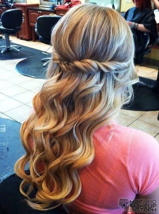 Pretty Prom Hairstyles  17 Fancy Prom Hairstyles for Girls Pretty Designs