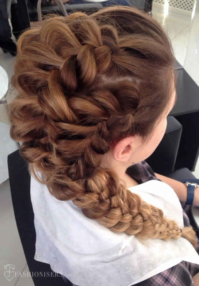 Pretty Prom Hairstyles  Different types of braided hairstyles