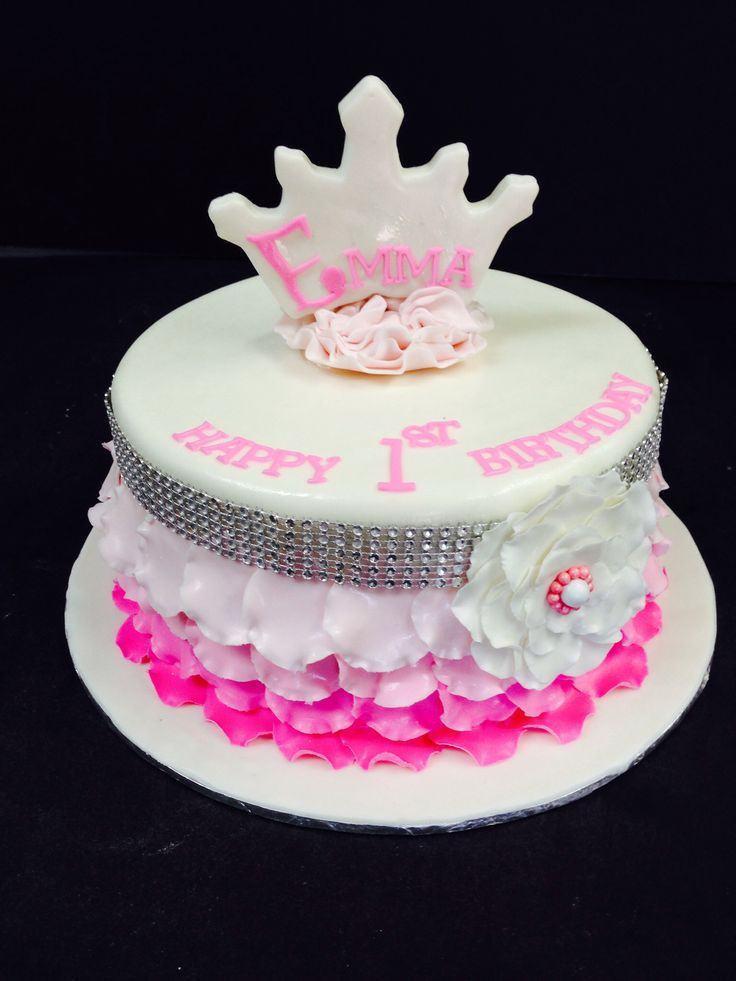 Princess 1st Birthday Cake  1st Birthday Princess Cake Ideas