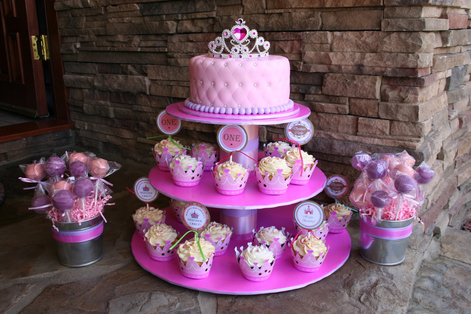 Princess 1st Birthday Cake  cakes by narleen kristel a princess 1st birthday