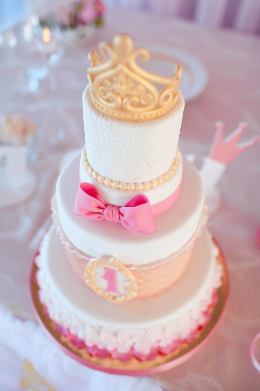 Princess 1st Birthday Cake  Princess Themed 1st Birthday Cake